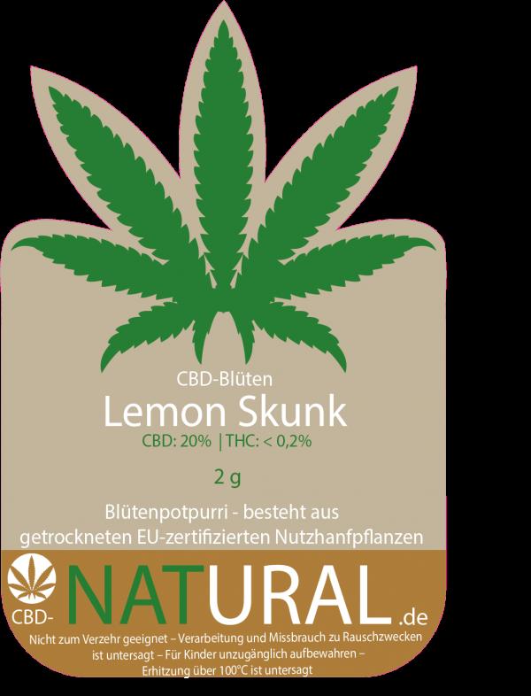 lemon skunk-cbd-natural