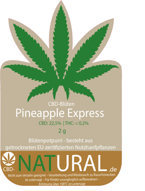 pineapple express-cbd-natural