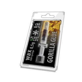CBD-WAX-05g-Gorillia Glue CBD-Natural