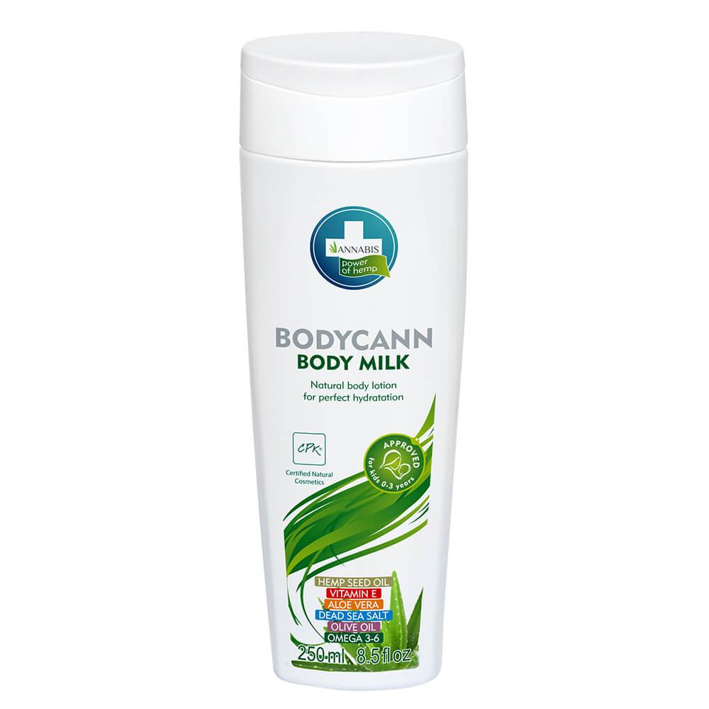 Annabis Bodycann Natürliche Körpermilch 250 ml CBD-Natural