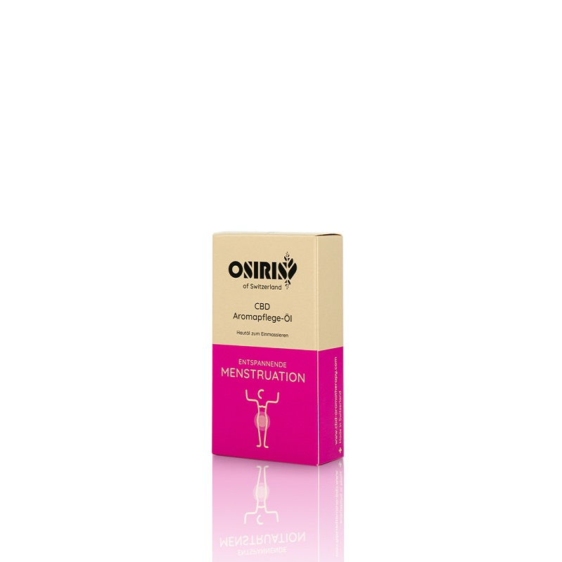 CBD-Natural CBD Aromapflege-Öl Entspannende Menstruation, 10 ml